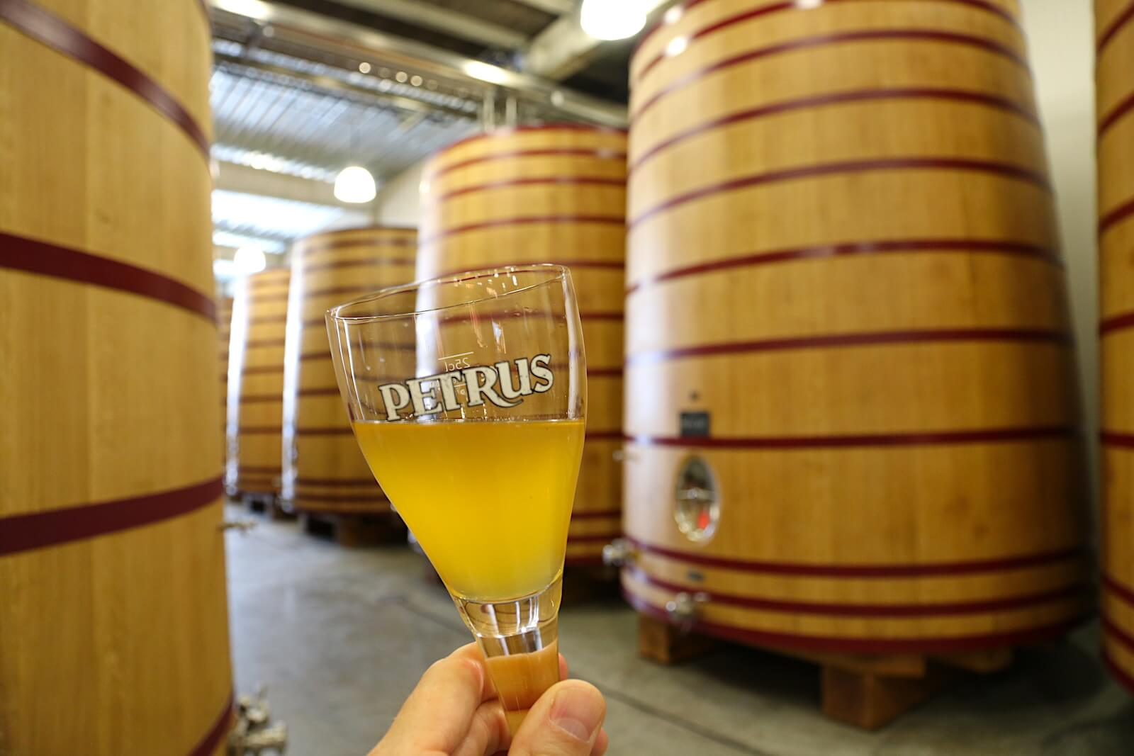 Petrus Aged Pale, straight from the foeder at Brouwerij De Brabandere.