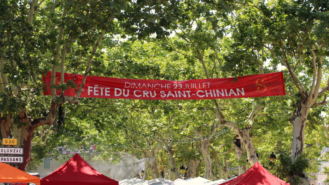 Saint-Chinian, France: Fête du Cru