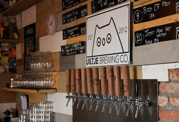 Taproom of Uiltje Brewing Company