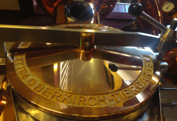 The copper kettle of Rutte Distillery