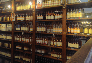 The bottle shop gives you plenty of choice