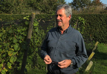 Winemaker (and importer) Peter de Wit
