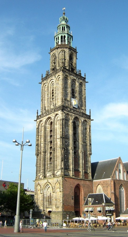d' Olle Grieze (Martini Tower) in Groningen