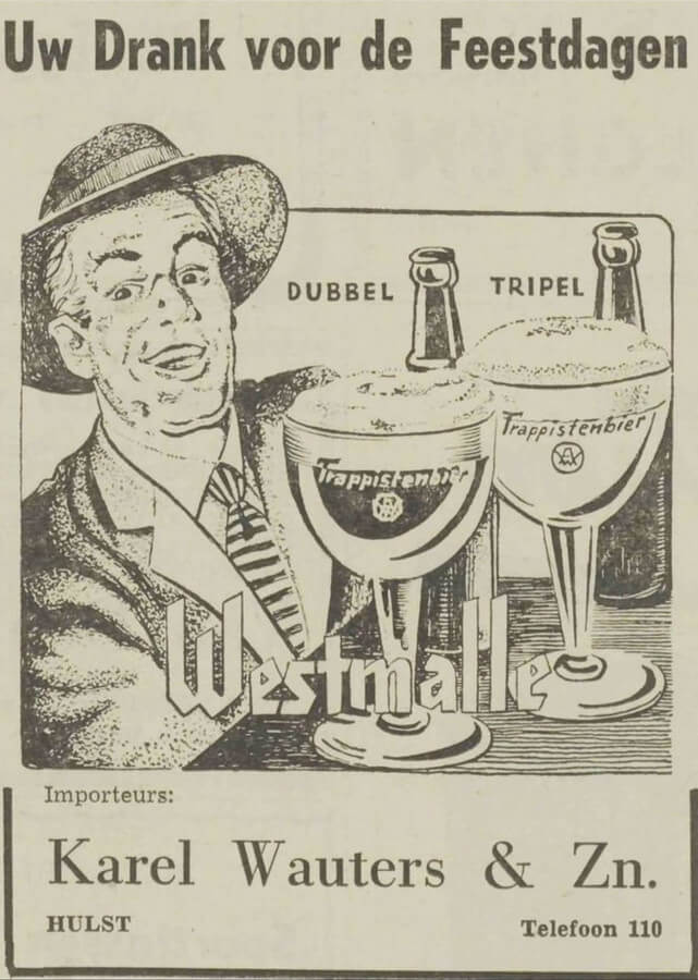 Wauters Hulst newspaper ad